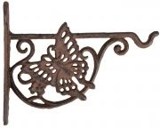 Cast iron Butterfly Hook for hanging basket and lanterns 21cm
