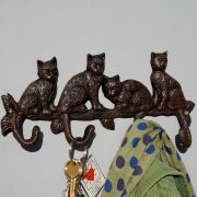 House2Home Cats  coat hook, Cat theme hanger
