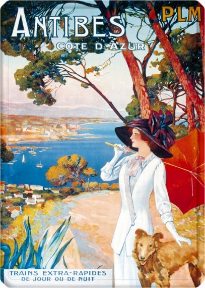 Metal Poster - ANTIBES DELEPIANNE 15X21