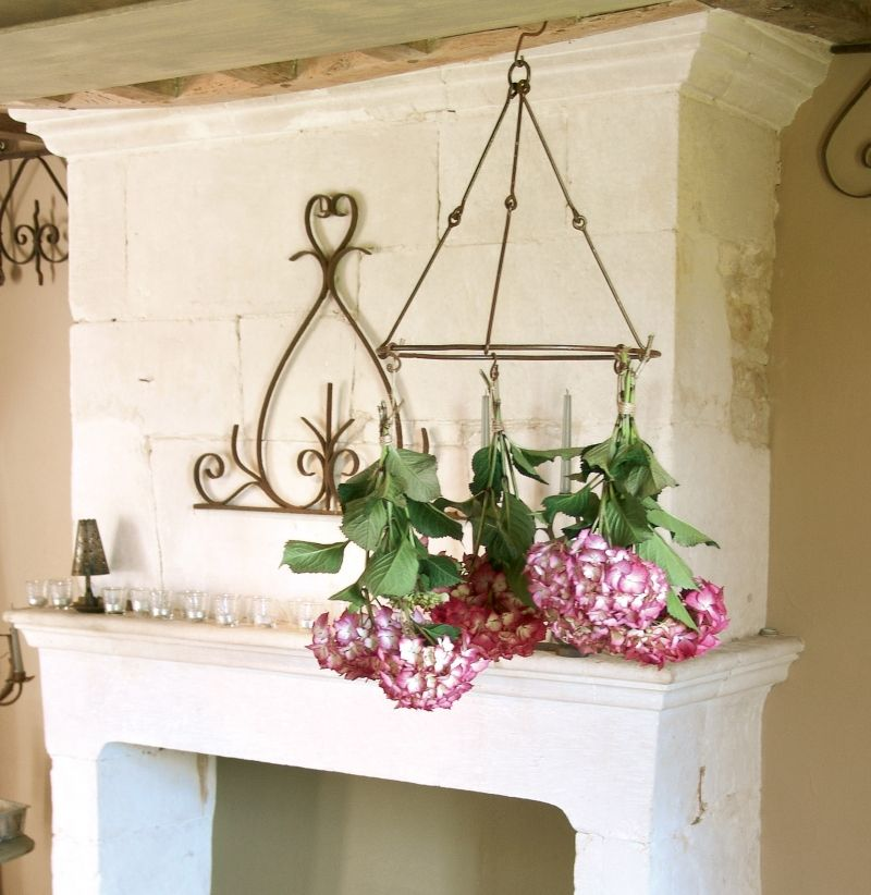 House2home çiçek Aromatik Bitki Kurutma Askısı Fincan Fener Asma