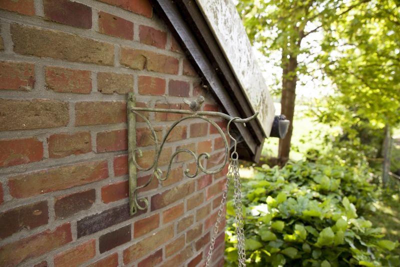 House2home Eskitme Metal Duvar Askısı 34cm