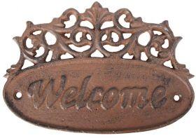 House2Home Antik Döküm Koleksiyon - Welcome Hoşgeldin Tabelası