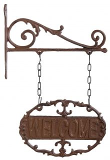 Cast iron welcome