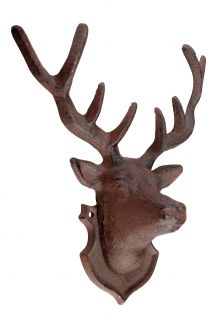 Cast iron Wall decoration deer