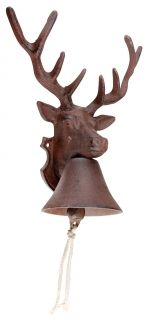 Cast iron Doorbell deer