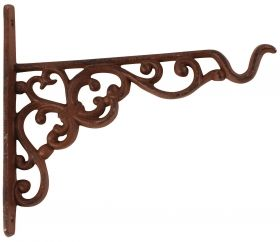 Castiron basket hanging hook small