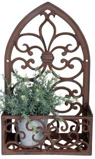 Cast iron Windowframe with planter