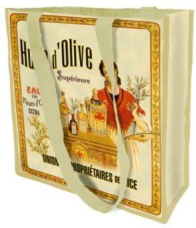 Vintage Çanta Huile D'olıve Superieure