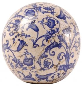 Aged ceramic  Ball in dia 18 cm
