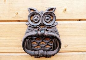 Owl doorknocker