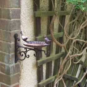 bird feeder with bracket