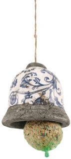 Aged ceramic feedingbell