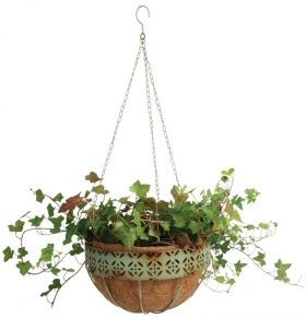 Industrial Vintage Hanging Basket