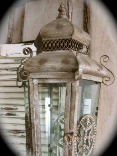 House2home Eskitilmiş Metal Fener