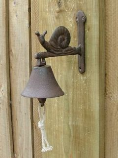 Cast iron  Doorbell snail