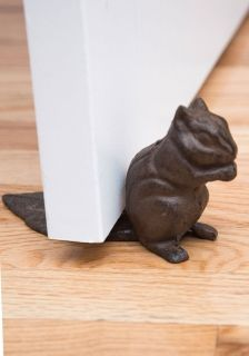 Cast iron door stopper