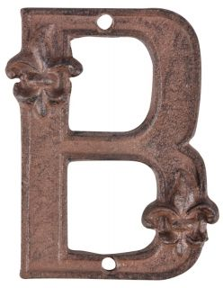 Cast iron House Number 0