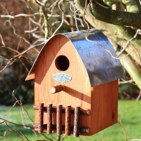 House2Home Garden Koleksiyon - Kuş Yuvası Turuncu