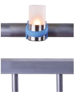 Balcony tealight glass