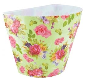 Half flower pot plastic