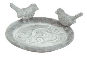 House2Home Antik Döküm Koleksiyon - Kuşlu Tabak