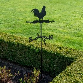 Rooster weathervane metal