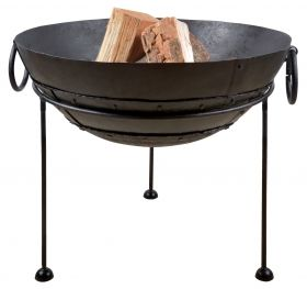 Reclaimed Metal Fire Bowl (60 Cm)