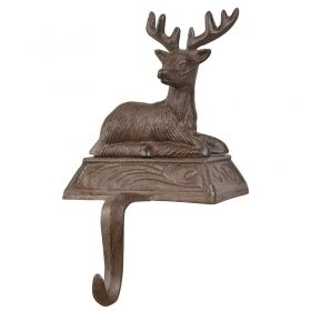 Stocking hanger deer