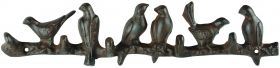 Cast iron Double Hook Birds