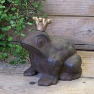 Frog with crown small