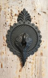 Cast iron door knocker - Large