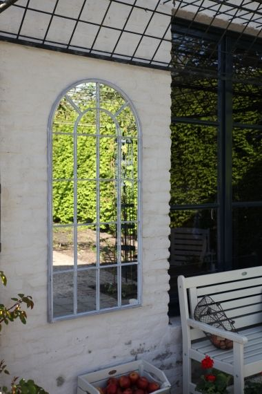 Arch Tall Outdoor Mirror,65 x 2.4 x 140 cm