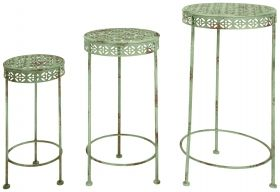 IH Plant tables set of 3